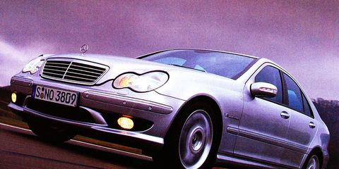 29aa303f50 2002 Mercedes-Benz C32 AMG and SLK32 AMG   8211  Review   8211  Car ...