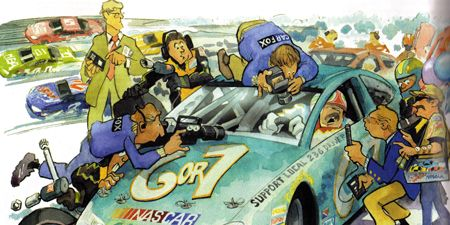 Motor vehicle, Mode of transport, Automotive design, Animation, Cartoon, Art, Animated cartoon, Headlamp, Hood, Vehicle door,