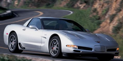 2002 Chevrolet Corvette Z06 Road Test –