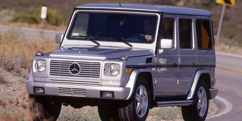2002 Mercedes Benz G500 Road Test 8211 Review 8211 Car And Driver