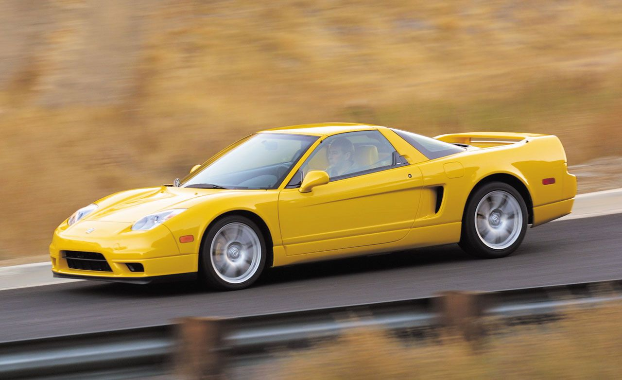2002 Acura Nsx First Drive