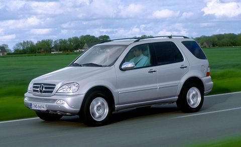2002 mercedes benz ml500