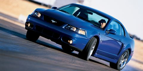 2003 Ford SVT Mustang Cobra Road Test –