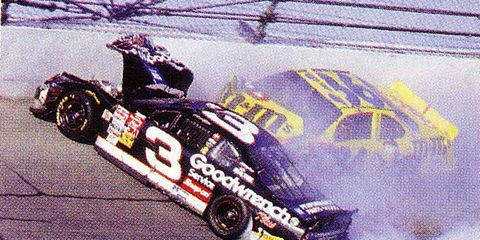 NASCAR B C  (before crash) and A D  (after Dale) –