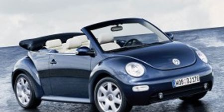 After What Seems Like Centuries Since Vw Released Beetlemania 2 On The World A Convertible Version Is Finally Its Way This Fall As 2003 Model New