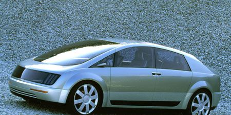 At The 2002 Paris Show Gm Unveiled Hy Wire World S First Drivable Vehicle That Combines A Hydrogen Fuel Cell With By Technology