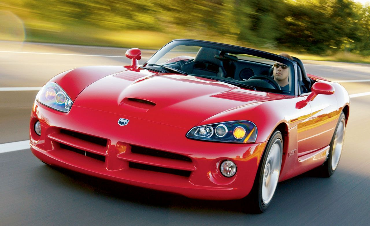 Tested 2003 Dodge Viper Srt 10 Still Scoffs At Civility