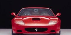Automotive design, Mode of transport, Vehicle, Hood, Automotive exterior, Automotive lighting, Red, Car, Grille, Bumper,