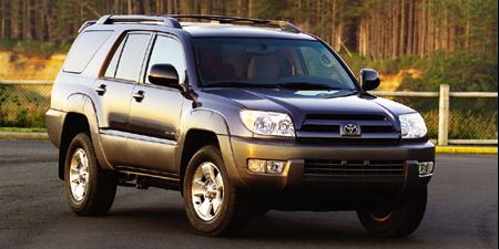 Tested 2003 Toyota 4runner Sr5 V 8 4wd