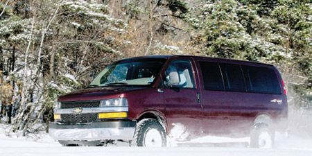 Quigley 4x4 Chevy Express 2500