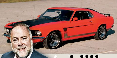 My Mustang Boss 302 Liked to Fart Sparks