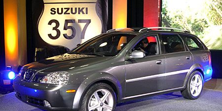 On The Heels Of Reno Introduction In Detroit Suzuki Will Unveil A Wagon Concept Its Forenza Sedan Which According To Manufacturer