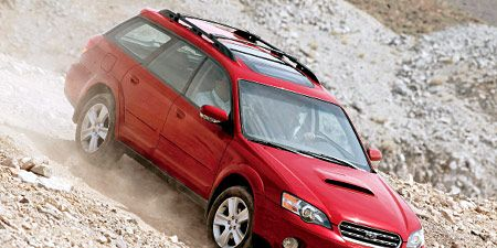 2005 subaru outback h6 manual