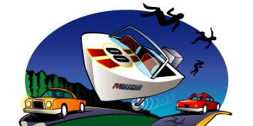 Motor vehicle, Mode of transport, Transport, Automotive design, Automotive mirror, Automotive exterior, Automotive lighting, Automotive parking light, Cartoon, Art,