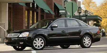2007 ford five hundred awd transmission
