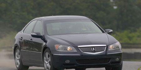 Land vehicle, Vehicle, Car, Full-size car, Acura, Acura rl, Mid-size car, Personal luxury car, Sedan, Automotive tire,