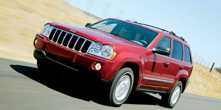 06 jeep grand cherokee limited specs