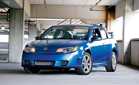 saturn ion red line 2004 Saturn Ion Coupe