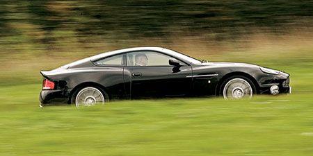 Aston Martin V 12 Vanquish S