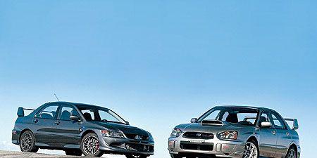 Subaru Wrx Vs Sti >> 2005 Mitsubishi Lancer Evolution Mr Edition Vs Subaru