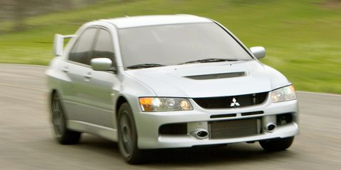 2006 Mitsubishi Lancer Evolution IX First Drive - Review - Car and