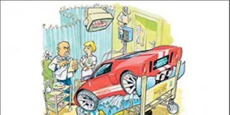 Motor vehicle, Mode of transport, Automotive design, Transport, Cartoon, Automotive exterior, Machine, Artwork, Illustration, Paint,