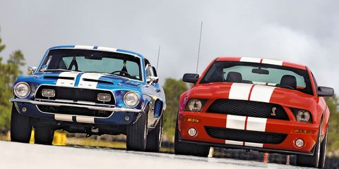 2007 Ford Mustang Shelby Cobra GT500 –