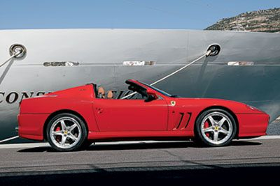 2005 Ferrari Superamerica First Drive