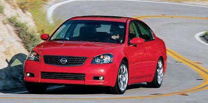 Tested 2005 Nissan Altima Se R