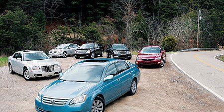 2005 Buick Lacrosse vs. Chrysler 300, Ford Five Hundred ...