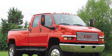 Gmc Topkick C4500 By Monroe Truck Equipment