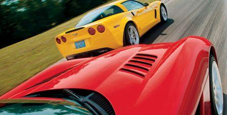 2006 chevrolet corvette z06, 2006 dodge viper srt10