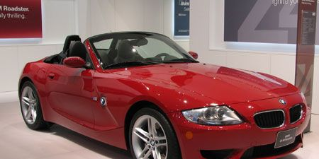 Slight Styling Revisions Befall The Z4 Roadster For 2006 But News Is That An M Division Version Of Will Debut In March
