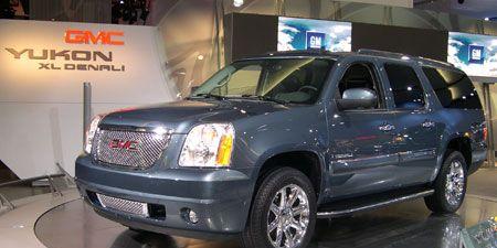 2007 Chevrolet Suburban Gmc Yukon Xl Gmc Yukon Denali Xl