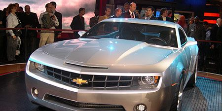 Los Angeles And Detroit Auto Shows Came From Beleaguered Automaker General Motors Chevrolet S Camaro Gm Long Awaited Response To The Successful 2005