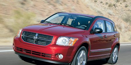 Land vehicle, Vehicle, Car, Dodge caliber, Motor vehicle, Automotive design, Hood, Automotive tire, Luxury vehicle, Crossover suv,