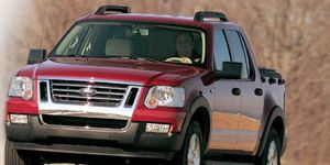 Ford Explorer Sport Trac Overview