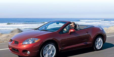 Mitsubishi Eclipse Gt >> 2007 Mitsubishi Eclipse Spyder Gt