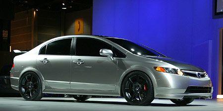 2007 Honda Civic Si Sedan Concept