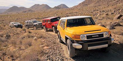2006 Off-Road SUV Comparison