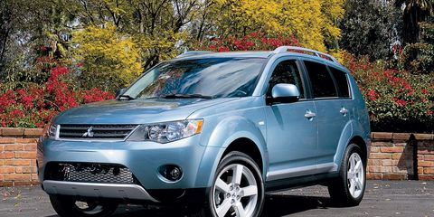 2007 Mitsubishi Outlander Road Test –