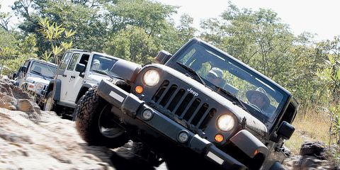 2007 Jeep Wrangler and Wrangler Unlimited Road Test –