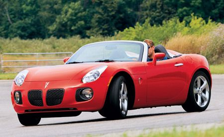 A Force That Can/'t Be Ignored Pontiac Solstice Ad!