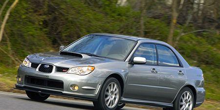 2007 Subaru Impreza Wrx >> 2007 Subaru Wrx Sti Limited