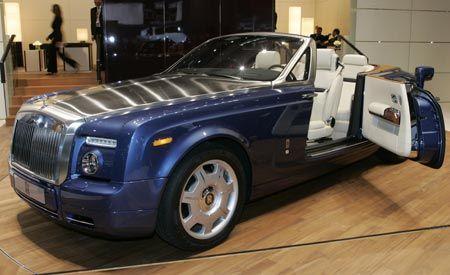 2008 rolls royce phantom drophead coupé