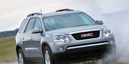 Gmc Acadia Towing Capacity >> 2007 Gmc Acadia Slt Awd