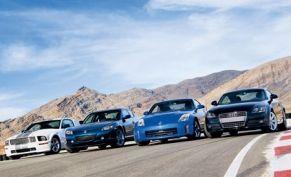 2007 Ford Mustang Shelby Gt Vs Mazda Rx 8 Nissan 350z 2008 Audi Tt 2 0t