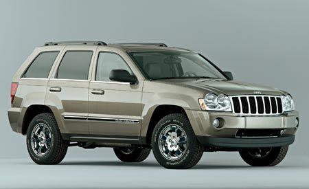 2007 jeep grand cherokee crd overland