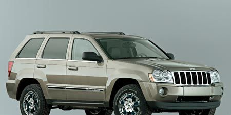 2007 Jeep Grand Cherokee Crd Overland 4x4