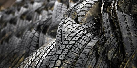 Grey, Close-up, Macro photography, Synthetic rubber, Natural material, Silver, Tread,